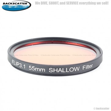 BackScatter FLIP3.1 55mm SHALLOW Filter