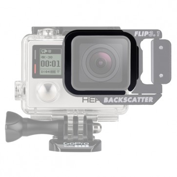 BackScatter FLIP3.1 Adapter for HERO4 and Hero3+ Standard Housing