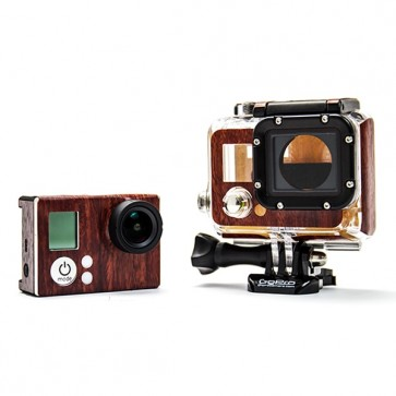 BazeSkin Mahogany Wood Full Body Skin for GoPro HERO3 / HERO3+