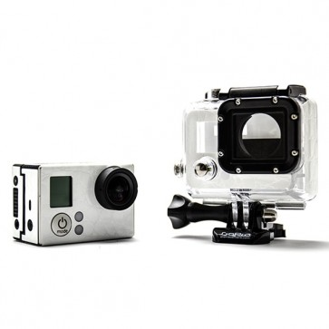 BazeSkin White Alligator Leather Full Body Skin for GoPro HERO3 / HERO3+