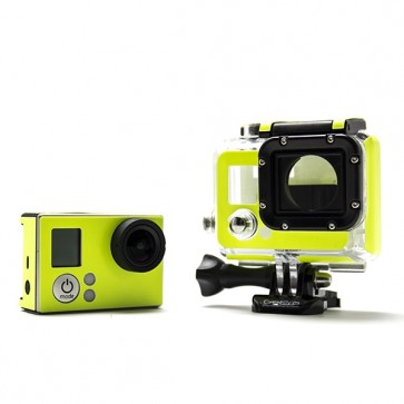 BazeSkin Yellow Glow-in-the-Dark Full Body Skin for GoPro HERO3 / HERO3+
