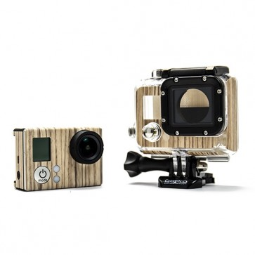 BazeSkin Zebra Wood Full Body Skin for GoPro HERO3 / HERO3+