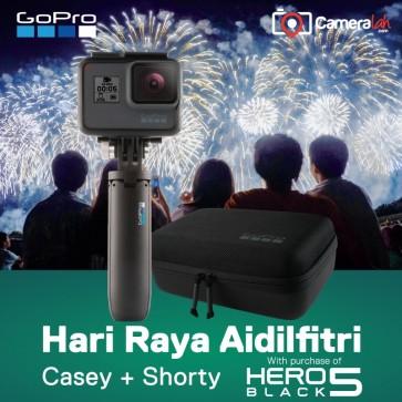 GoPro HERO5 Black HARI RAYA Bundle (Casey + Shorty)