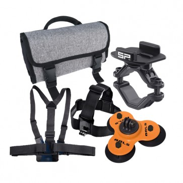 MOTORSPORTS Action Camera Accessories Kit - Advance