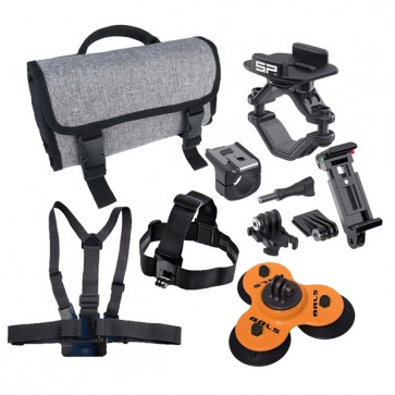 MOTORSPORTS Action Camera Accessories Kit - Professional