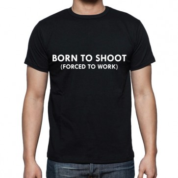 Cameralah Born To Shoot Photography T-shirt