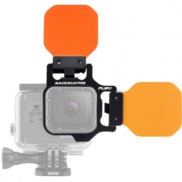 BackScatter FLIP5 Three Filter Kit with Shallow, Dive & Deep Filter for GoPro HERO 5/4/3+/3