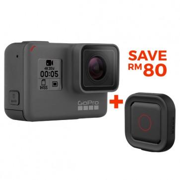 GoPro HERO5 Black + REMO Bundle (Original Malaysia GoPro Warranty)