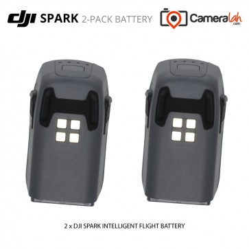 [READY STOCK] DJI SPARK Quadcopter Intelligent Flight Battery (2-Pack Batteries)