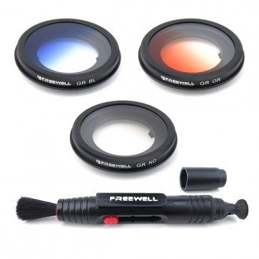 Freewell Gradual Orange/Blue/Grey Filter Set for Yuneec Typhoon/Blade Chroma 4K