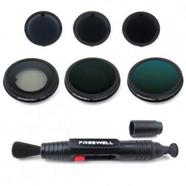Freewell ND8/ND16/ND32/CPL/ND8-CPL/ND16-CPL Filter Set for Yuneec Typhoon/Blade Chroma 4K
