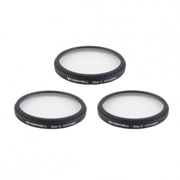 Freewell STAR4/6/8/ Filter Set for DJI OSMO and Inspire 1 Zenmuse X3 Camera