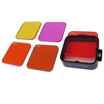 Freewell Dive Filter COMBO with Red/Yellow/Magenta filter for GoPro HERO4/3+