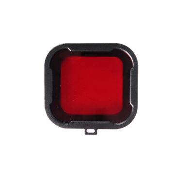 HIROGear Diving Filter HERO4/3+ for BLUE WATER (Red)