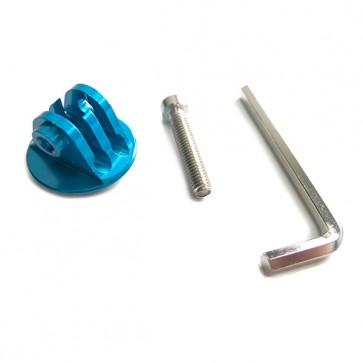 HIROGear Aluminium Screw Mount (Blue)