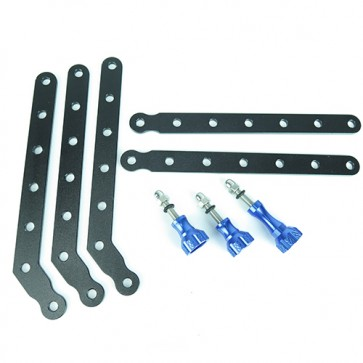 HIROGear Aluminum Extension Arms (Blue)