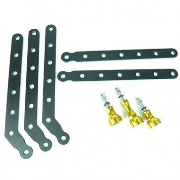 HIROGear Aluminum Extension Arms (Gold)