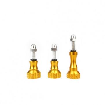HIROGear Aluminum Screw Set (Gold)
