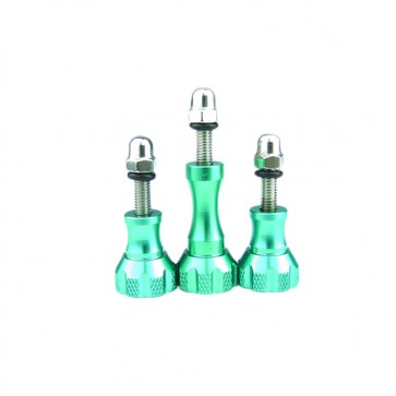 HIROGear Aluminum Screw Set (Green)