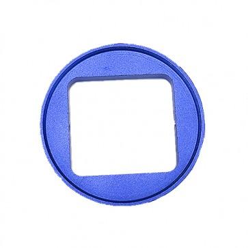 HIROGear HERO4/3+ 52MM Lens Converter (Blue)