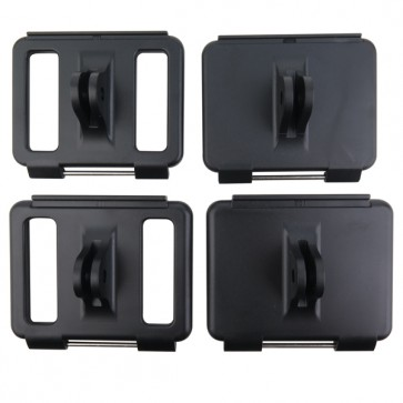 HIROGear Backdoor Mounting Set for GoPro HERO 4/3+/3 (Black)