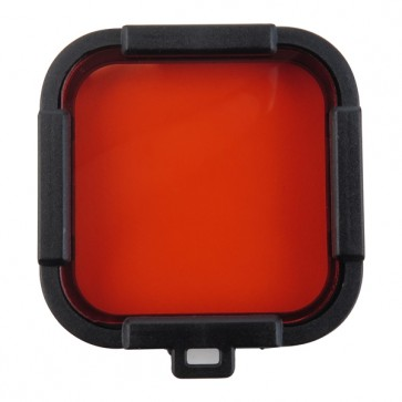 HIROGear Diving Filter HERO4 Session for BLUE WATER (Red)