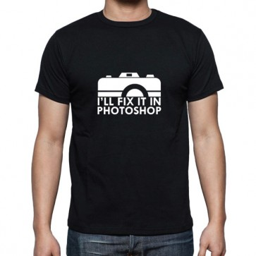 Cameralah I'll Fix It in Ps Photography T-Shirt