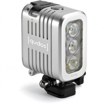 Knog Qudos Action Video Light (Silver)