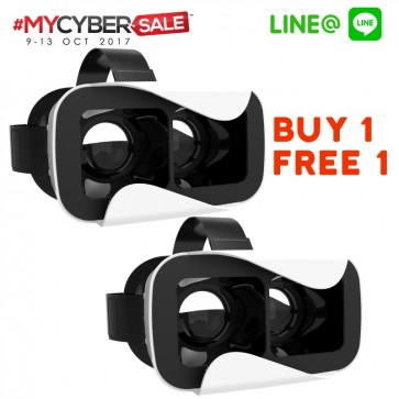 MYCYBERSALE 2 x Freewell VRPOD Virtual Reality Glasses for iOS/Android (White)