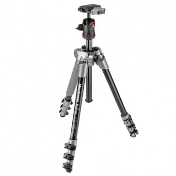 Manfrotto BeFree Compact Travel Aluminum Alloy Tripod (Gray)