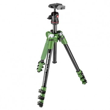 Manfrotto BeFree Compact Travel Aluminum Alloy Tripod (Green)