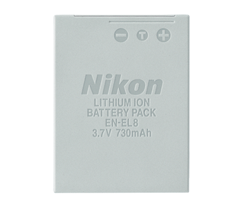Nikon EN-EL8 Rechargeable Li-Ion Battery
