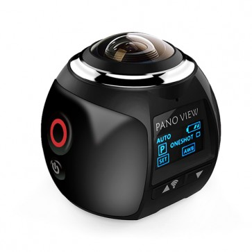 360 Degree Wifi Action Cam 360CAM XDV360 (Black)