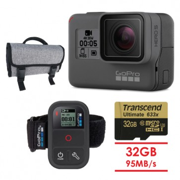 GoPro HERO5 Black Smart Remote BUNDLE