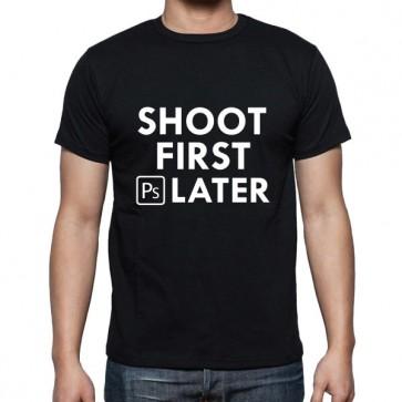 Cameralah Shoot 1st Ps Later Photography T-Shirt