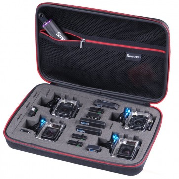 Smatree SmaCase G360 EVA Carrying and Travel Case for GoPro (BLACK)