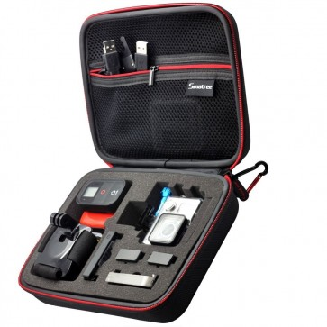 Smatree SmaCase G160 EVA Carrying and Travel Case for Action Cameras (BLACK)