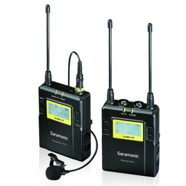 Saramonic UwMic10 RX10+TX10 Wireless Lavalier Microphone System
