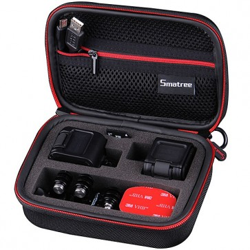 Smatree SmaCase GS75 EVA Carrying and Travel Case for GoPro HERO 4 Session (BLACK)