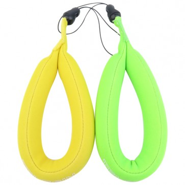 TELESIN Floating Wrist Strap for Action Camera (Green+Yellow)