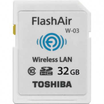 Toshiba FlashAir Wireless SDHC 32GB Class 10 W-03