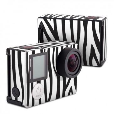 GoPro HERO4 Black Edition Skin - Zebra Stripes