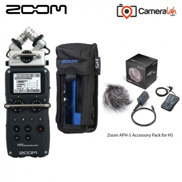 Zoom H5 Handy Recorder - Grab & Go BUNDLE