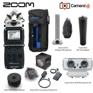 Zoom H5 Handy Recorder - Professional BUNDLE