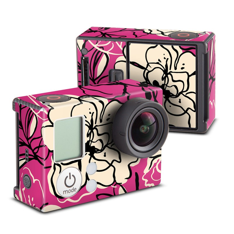 Black Lily Skin for GoPro HERO3 and HERO3+