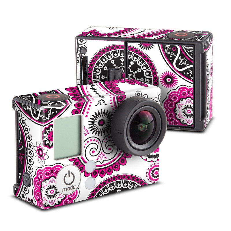 Boho Girl Paisley Skin for GoPro HERO3 and HERO3+