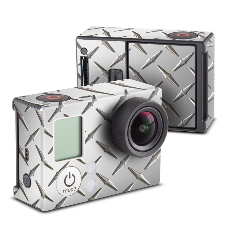 Diamond Plate Skin for GoPro HERO3 and HERO3+