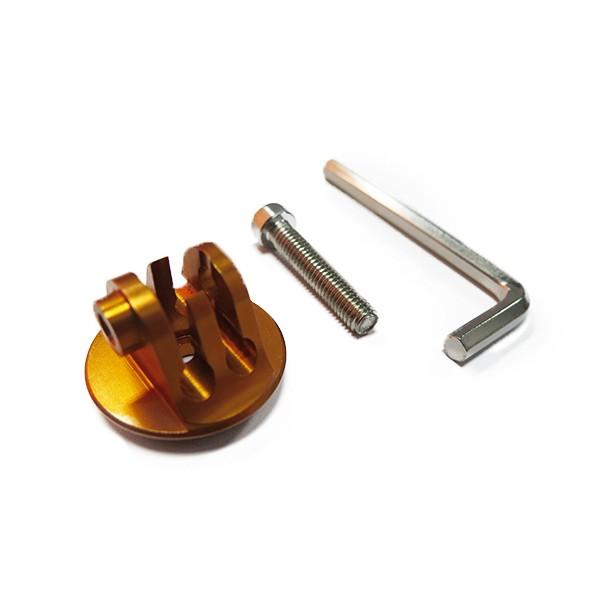 HEROGear Aluminium Screw Mount (Gold)