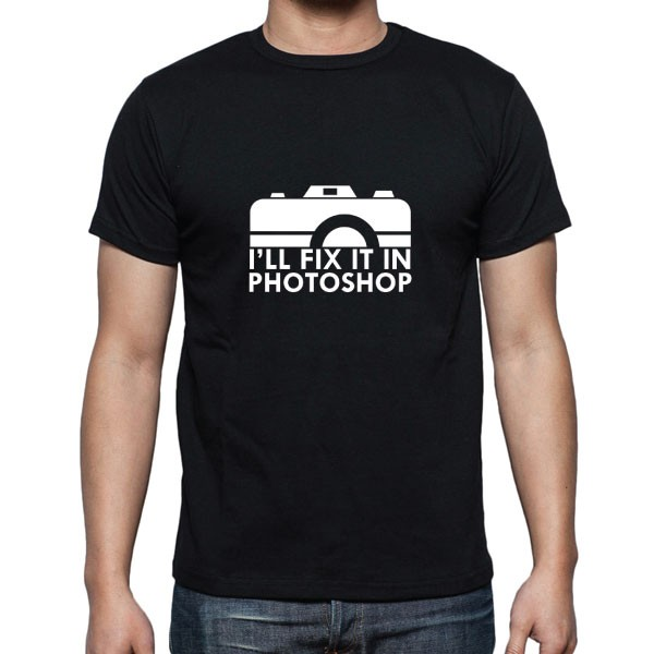 Cameralah Ill Fix It in Ps Photography T-Shirt