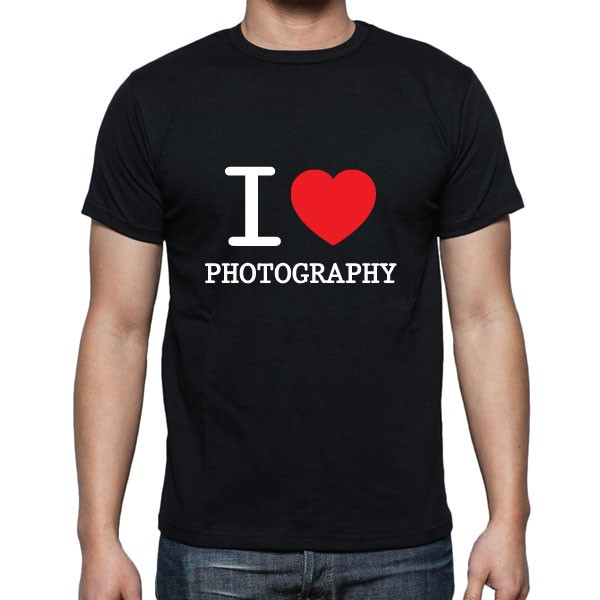 Cameralah I Love Photography T-Shirt